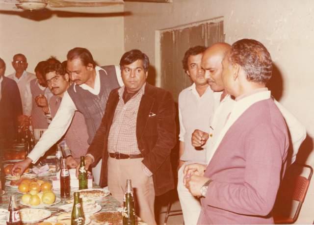 Col.Moinuddin Ahmed, Engr.Zamir Ahmed, Engr.Hawar Hussein, руководитель компании NCL, другие пакистанские коллеги
