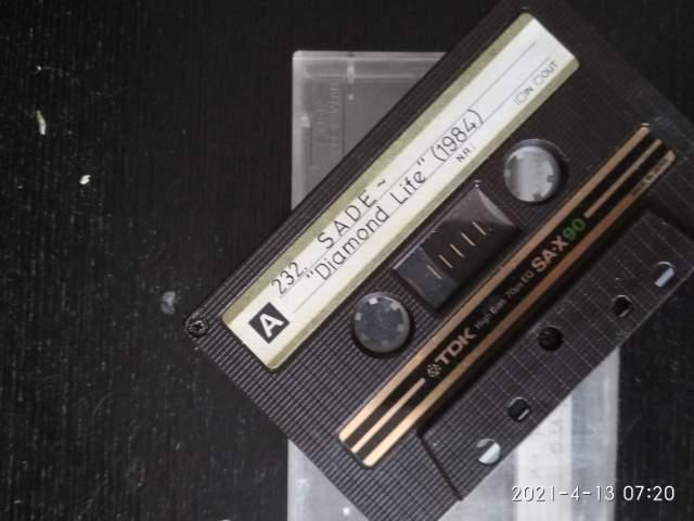 кассета Sade из коллекции клуба городка