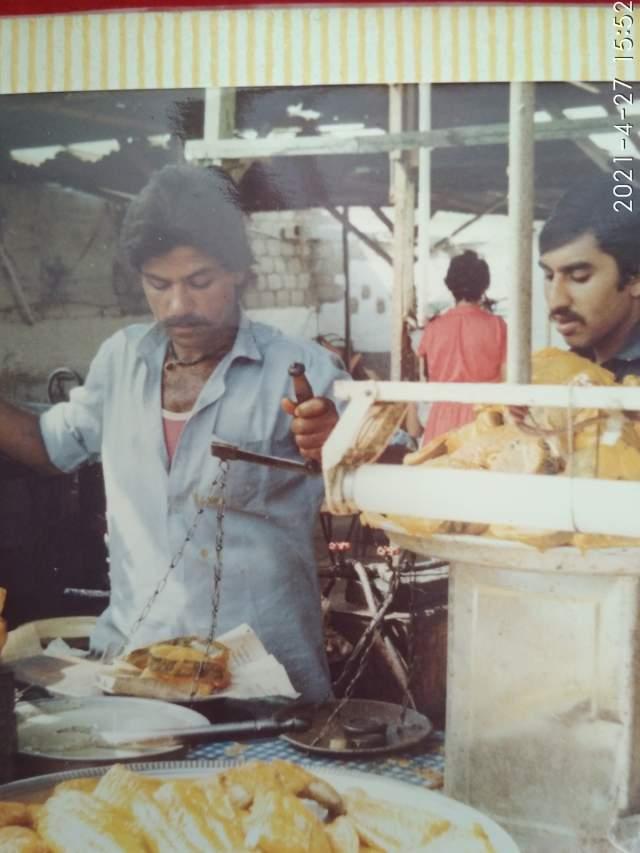 Торговцы в Карачи в деле