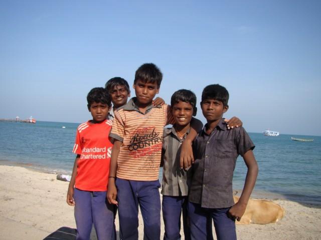 дети океана