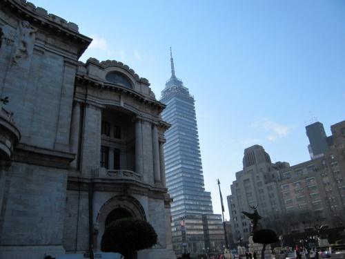 Беллас Артес и Ла Латиноамерикана со смотровой площадкой