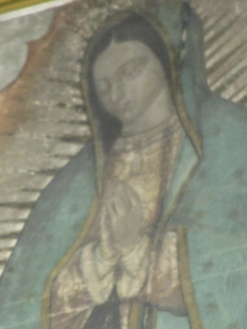 нерукотворное изображение Девы Гваделупской