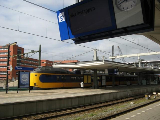 И электрички тоже... Город Zwolle