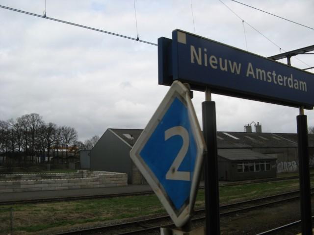 Новый Амстердам... Там ещё недалеко Новая Москва, но туда не удалось попасть...