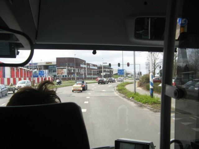 По Эммену на автобусе №21