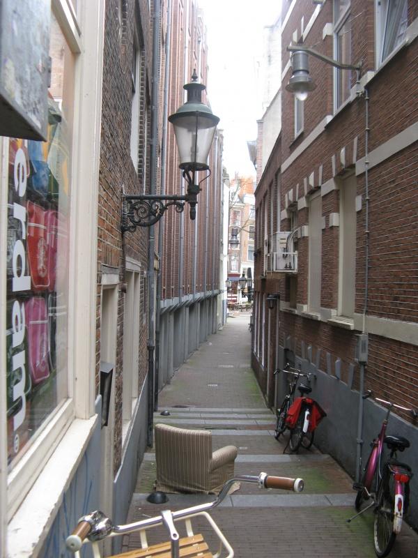 Кресло на каникулах в Амстере...
