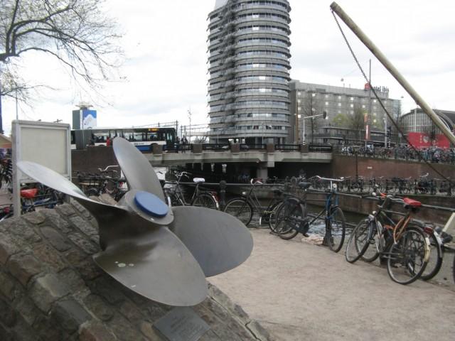 Карлсон на каникулах в Амстере...