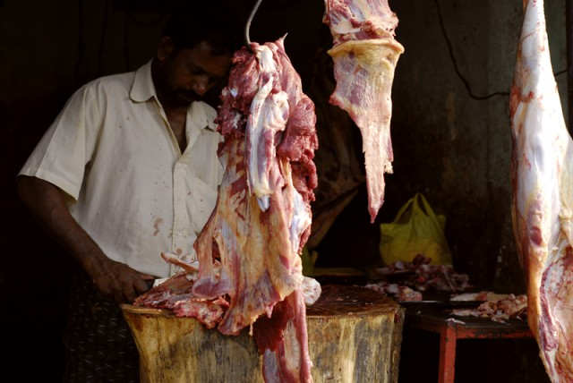Мусульманский район. Мясо