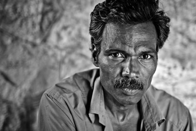 портрет рикши