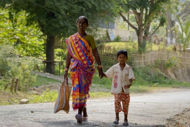 Мама Андамана и маленький Андаман