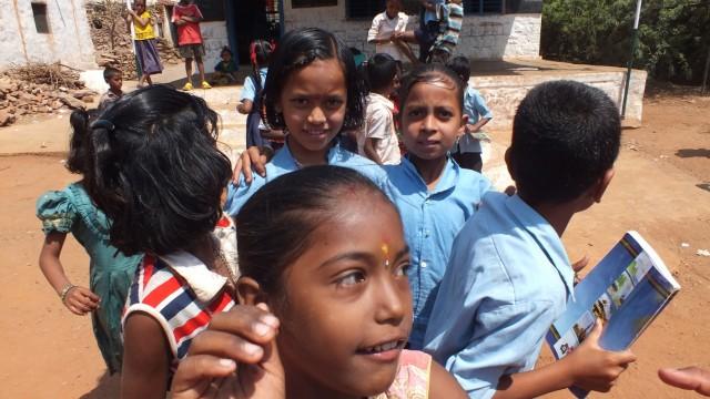 деревенская школа