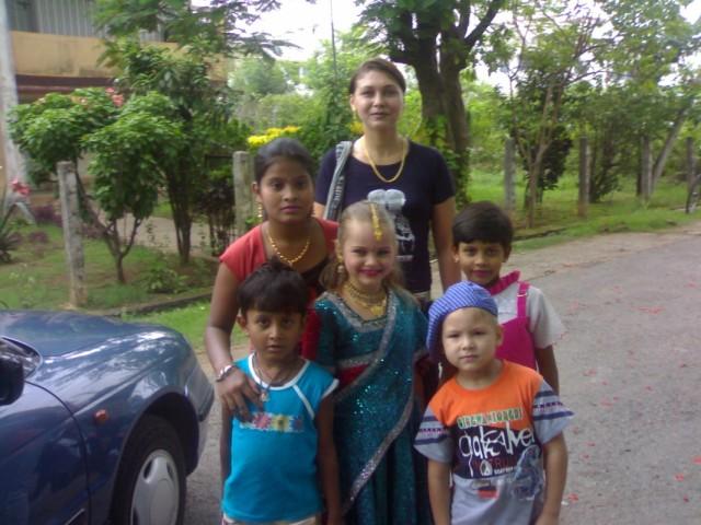 российско-индийско-соседский культурный обмен