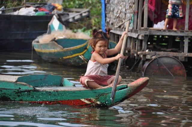 Камбоджа. Озеро Тонлесап
