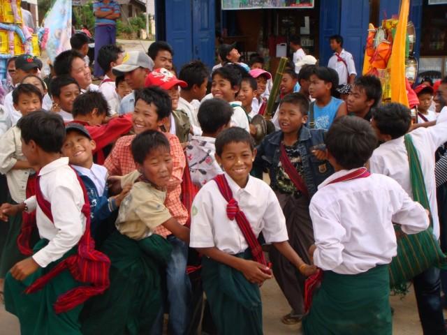 Бирма. Пиндайя