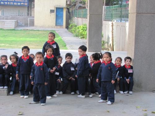 Детский сад в Дели