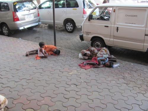 На улице в Мумбаи