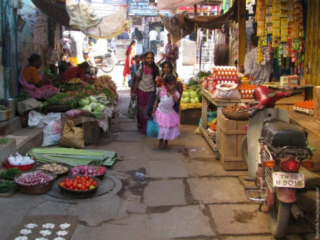 Мадурайская улочка