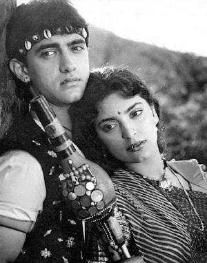 Амир Кхан+Джухи Чавла - одна из моих любимых пар