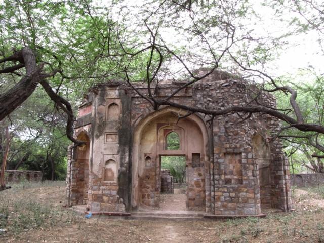 Mehrauli археологический парк.