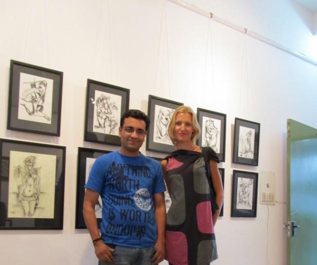Rajeev and me)