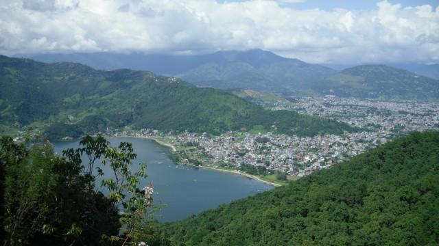 Покхара как на ладони