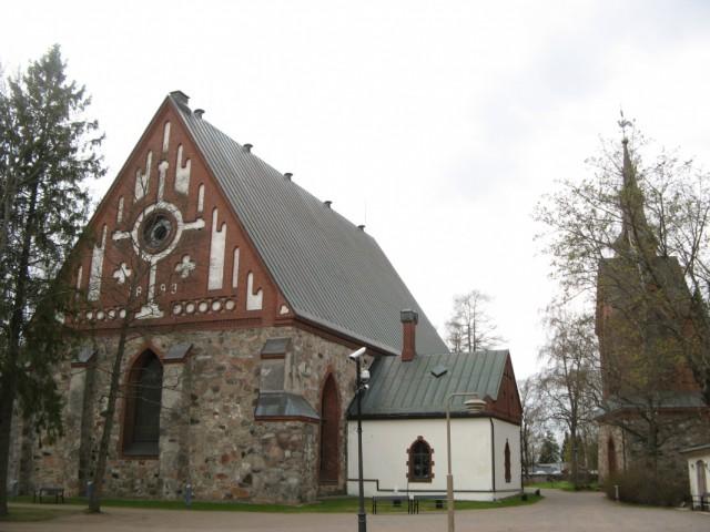 Церковь Св. Лаврентия. Новое здание было построено в 1893 году