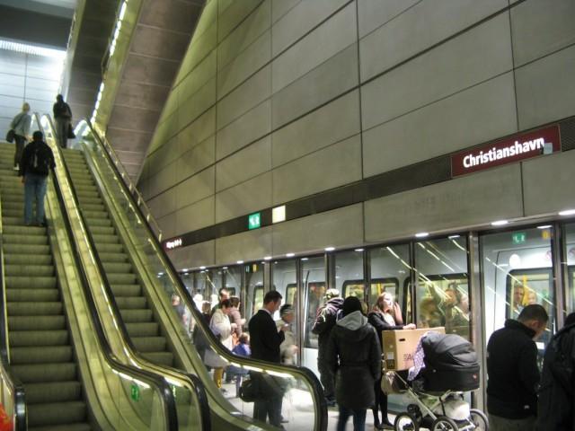 Станция метро Кристиансхавн (Christianshavn)