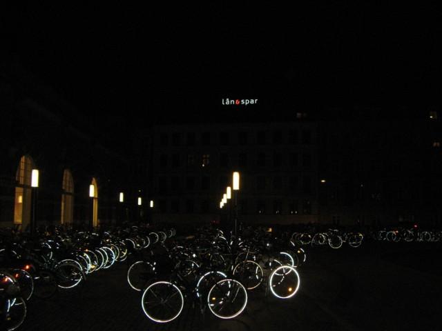Велосипеды в ночи