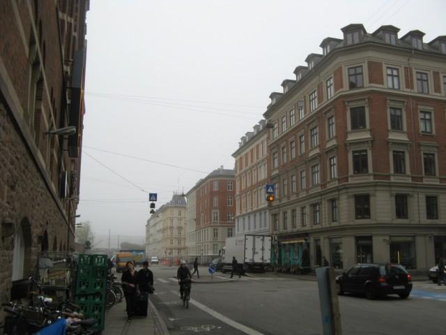 Туманное утро в Копенгагене