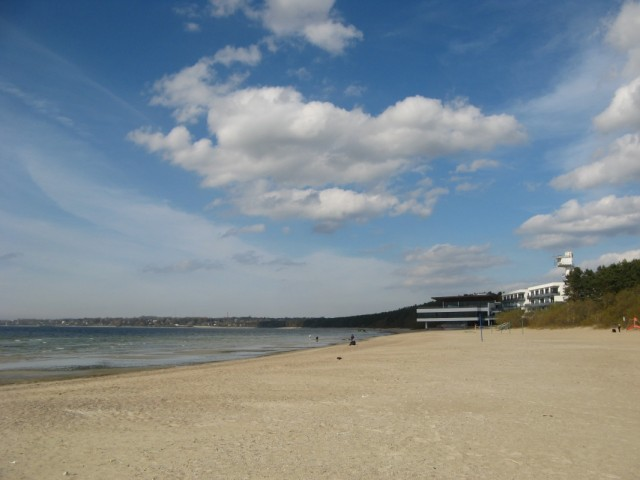 Пляж в Пирите