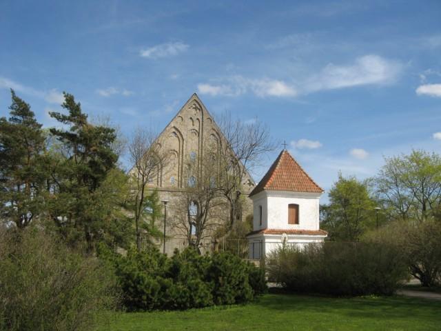 В Пирите. Руины Монастыря Святой Биргитты