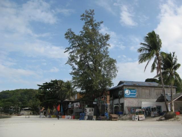 Хаад Рин, восточный пляж