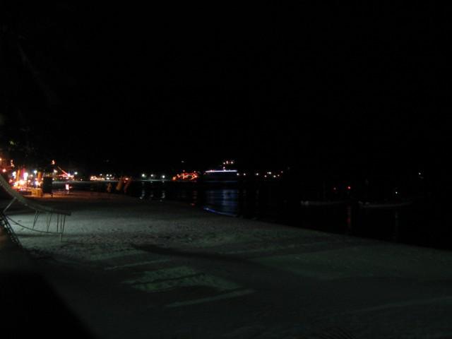 Хаад Рин, восточный пляж ночью
