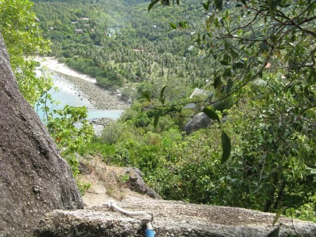 Вид на Хаад Тхиан с горы