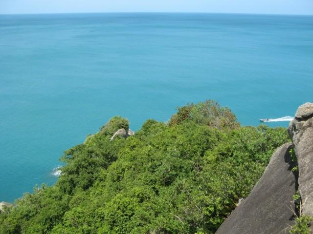 А внизу - Сиамский залив