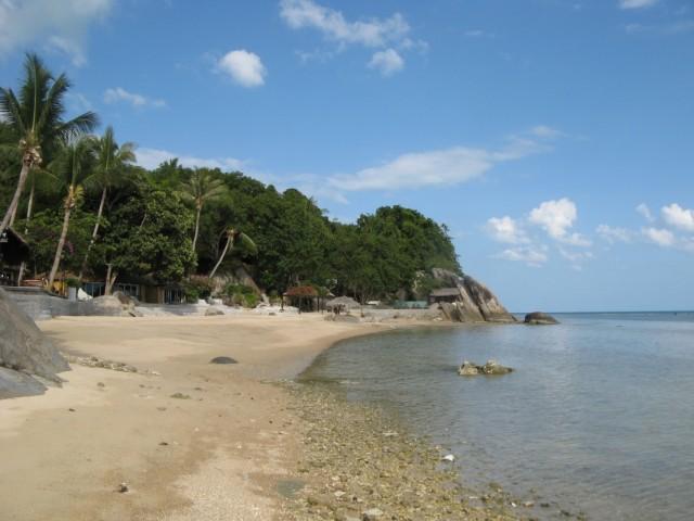 На пляже Ао Хин Лор