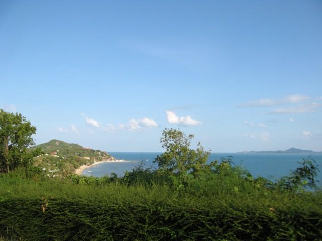 Вид в сторону пляжа Лила и Ко Самуи