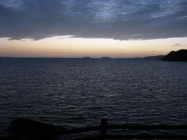 Совсем закат