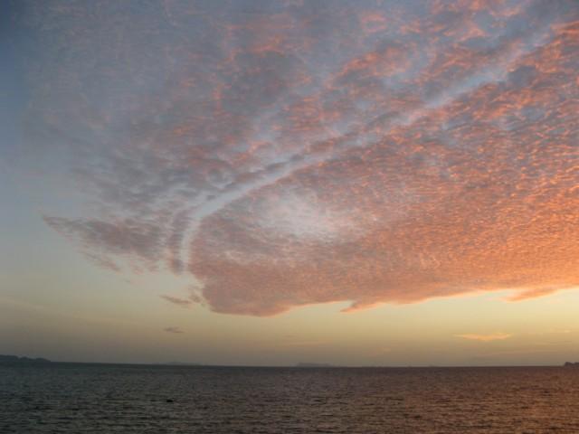Закат... Островки на горизонте - Национальный Морской Парк
