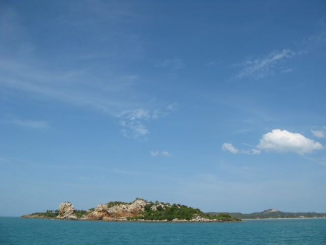 Островок Ко Сом возле северо-восточной оконечности Ко Самуи