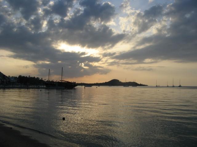 Вид на бухту Бо Пхут