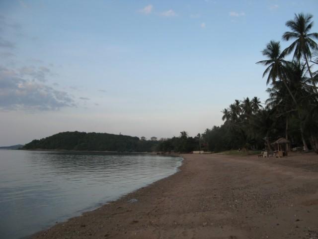Пляж Бо Пхут по пути к мыску