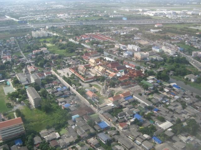 Какой-то храмовый комплекс в Бангкоке