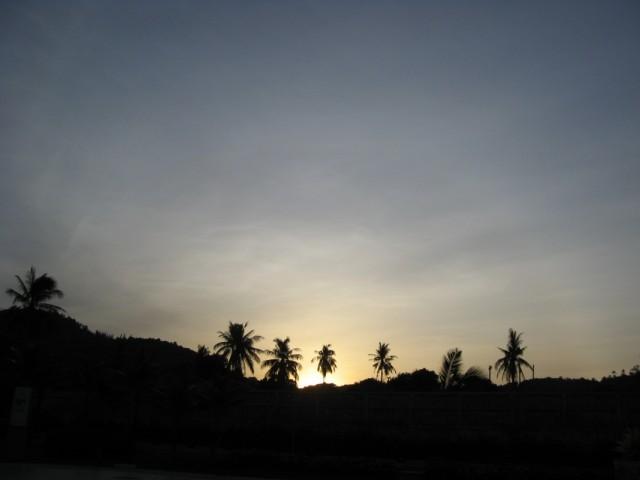 Первый и последний тайский восход