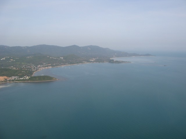 Пляжи Бо Пхут и Мае Нам (совсем вдалеке, тоже очень туристическое место)