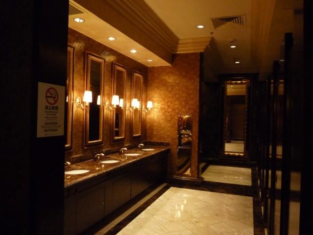 туалет в казино Venetian