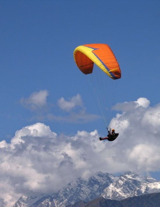полет в Гималаях