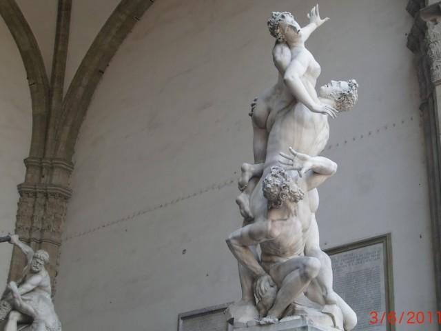 В лоджии Ланци, перед палаццо Векио