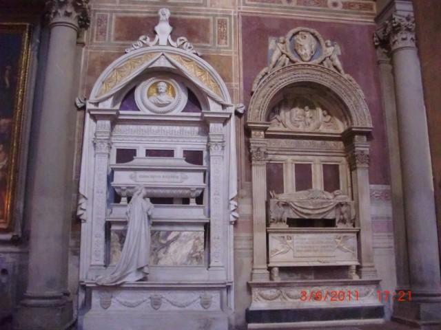 Собор Санта-Кроче, память великих сынов Флоренции - Джоакино Россини ...