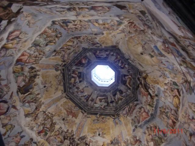 Купол Санта Мария дель Фиоре, изнутри
